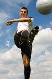 Gracz futbolu 4 Obrazy Stock