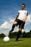 Gracz futbolu Fotografia Stock
