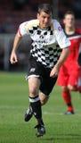 gracz futbolu piłka nożna Fotografia Stock