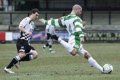 gracz futbolu piłka nożna Zdjęcie Stock