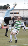 gracz futbolu piłka nożna Fotografia Royalty Free