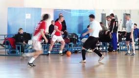 Gracz futbolu sztuki futbol zbiory wideo