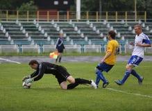 Gracz futbolu Vladimir Beschastnykh №11 Zdjęcie Royalty Free