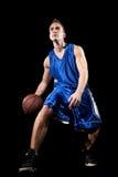 gracz koszykówki Zdjęcia Stock