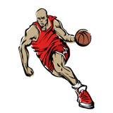 Gracz koszykówki royalty ilustracja