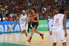 Gracz koszykówki Anderson Varejão fotografia stock