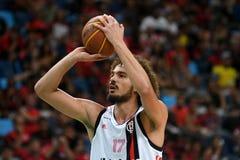 Gracz koszykówki Anderson Varejão zdjęcia stock