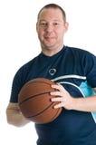 gracz koszykówki potomstwa fotografia stock