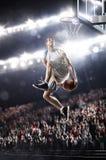 Gracz koszykówki Fotografia Stock