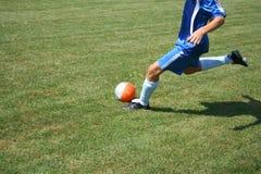 gracz piłka nożna Obraz Royalty Free
