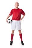gracz piłka nożna Obrazy Stock