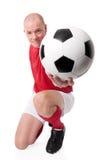 gracz piłka nożna Zdjęcia Royalty Free