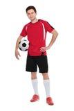 gracz piłka nożna Zdjęcia Stock