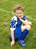 gracz piłka nożna fotografia stock