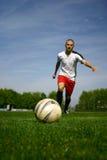 Gracz piłki nożnej -2 Fotografia Royalty Free