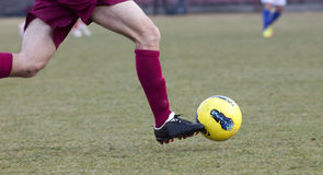 Gracz piłki nożnej Fotografia Stock
