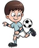 Gracz piłki nożnej Zdjęcia Stock
