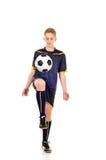 Gracz piłki nożnej zdjęcie royalty free