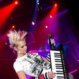 gracz rock Zdjęcie Royalty Free
