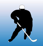 gracz w hokeja Obrazy Royalty Free
