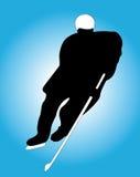 gracz w hokeja Zdjęcie Stock