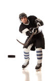 gracz w hokeja Obraz Stock