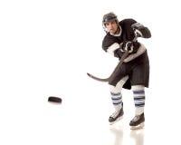 gracz w hokeja Zdjęcia Stock