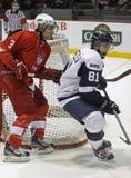gracz w hokeja dwa Zdjęcie Royalty Free