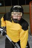 gracz w hokeja potomstwa zdjęcie stock