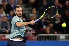 Gracz w tenisa Viktor Troicki Fotografia Stock