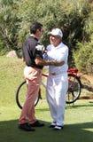 GRACZA GARY PRO golfista Obrazy Royalty Free
