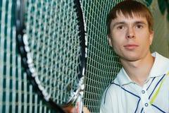 gracza kanta tenisa potomstwa obraz royalty free