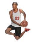 Gracza Koszykówki doskakiwanie Obrazy Royalty Free
