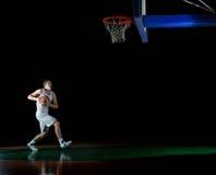 Gracza koszykówki portret Fotografia Stock