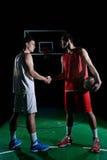 Gracza koszykówki portret Obrazy Stock