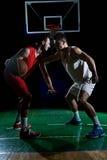 Gracza koszykówki portret Obraz Royalty Free