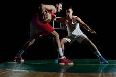 Gracza koszykówki portret Obraz Stock