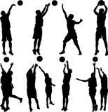 Gracza Koszykówki wektor Zdjęcia Stock