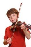 gracza skrzypce Obrazy Royalty Free