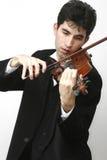 gracza skrzypce Zdjęcie Stock