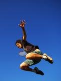 gracza tenis Zdjęcia Royalty Free