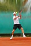 gracza tenis obraz royalty free