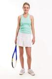 gracza tenis obraz stock
