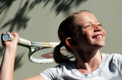 gracza tenisa potomstwa Obraz Royalty Free