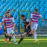 Gracze futbolu Zdjęcie Royalty Free