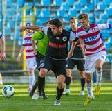 Gracze futbolu Fotografia Stock