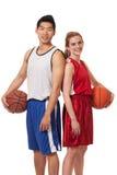 Gracze Koszykówki Zdjęcie Royalty Free