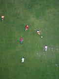 Gracze piłki nożnej, Wiedeń Obraz Stock