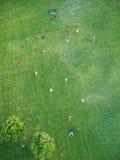 Gracze piłki nożnej, Wiedeń Zdjęcie Stock