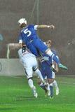 Gracze skaczący dla piłki Obraz Stock